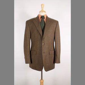 Ralph Lauren 40R Brown Sport Coat B449